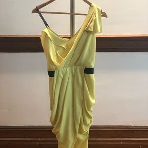 Rachel Roy yellow cocktail dress - worn once!